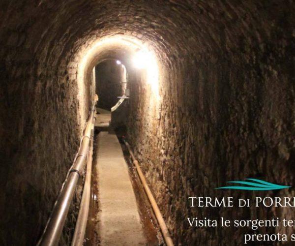 galleria sorgenti Porretta Terme